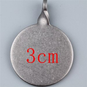 Diameter 3cm and 4cm Stainless steel center of a target thickening box 3cm 4cm usde for shooting gun hunting slingshot Image 5