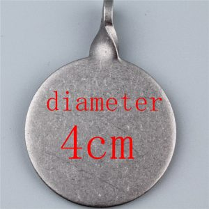 Diameter 3cm and 4cm Stainless steel center of a target thickening box 3cm 4cm usde for shooting gun hunting slingshot Image 6