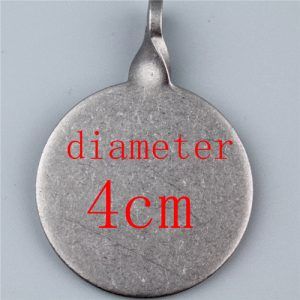 Diameter 3cm and 4cm Stainless steel center of a target thickening box 3cm 4cm usde for shooting gun hunting slingshot Image 8